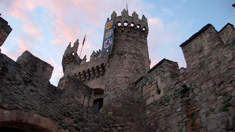 Castillo de los Templarios en Ponferrada. Foto: Raúl C.