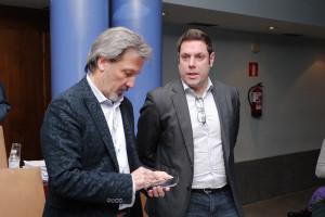 Pedro Muñoz e Iván Alonso. Foto: Raúl C.