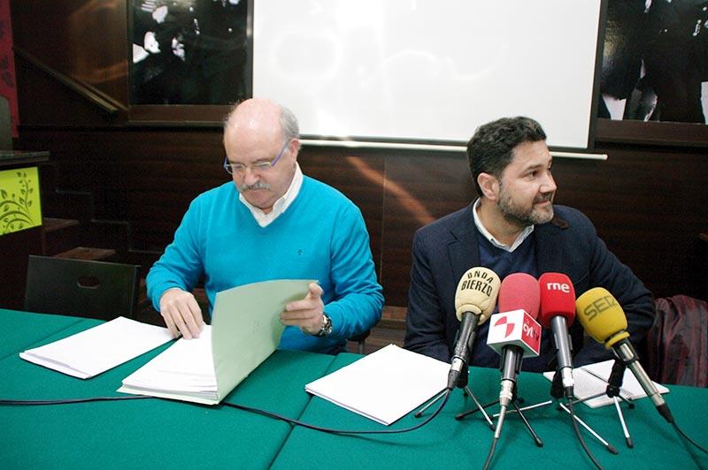 Emilio Cubelos y Marcos Díez. Foto: Raúl C.