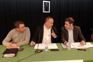 Pleno del Consejo Comarcal, debate sobre el informe a la propuesta de unidades básicas de la Junta de Castilla y León. Foto: Raúl C.