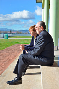 Secundino Escudero y Beatriz Escudero.