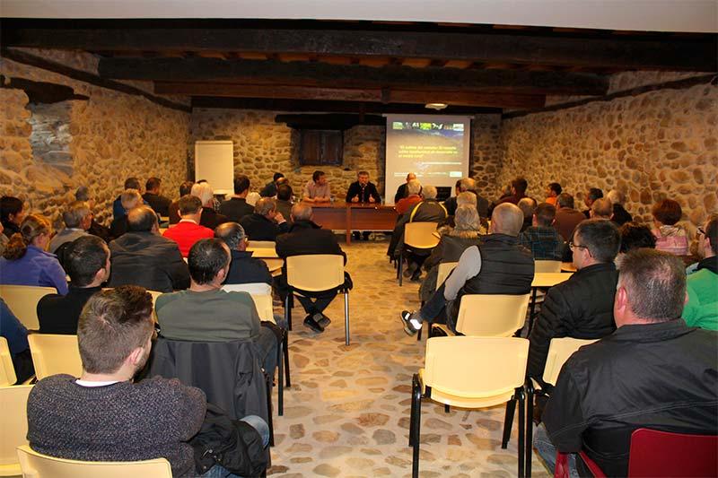 Jornada informativa sobre el cultivo del castaño en Carracedelo.
