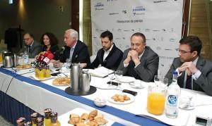 José Luis Concepción en el Desayuno de Prensa organizado por Infobierzo. Foto: Raúl C.