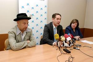 Branislav Grbic, Pablo Sancho y María Antonia Gancedo. Foto: Raúl C.