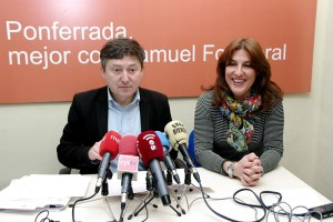 Samuel Folgueral y Cristina López Voces. Foto: Raúl C.