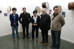 Inauguración de la exposición sobre la chifla y el tambor del Instituto de Estudios Bercianos. Foto: Raúl C.
