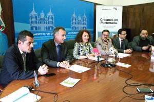 Presentación de la campaña Creemos en Ponferrada. Foto: Raúl C
