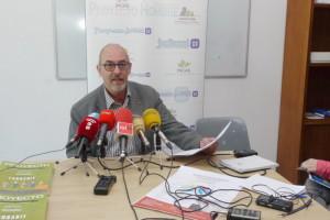 Jorge Juan Peña, presidente de Proyecto Hombre Bierzo-León. Foto: Raúl C.