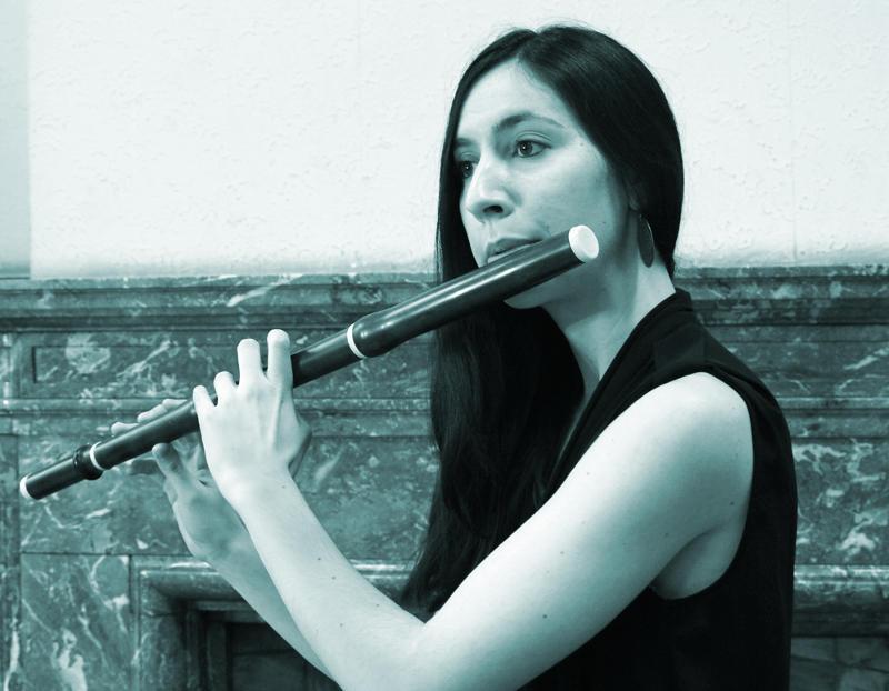 Ensemble La Folichón - Bárbara Ferraz (flauta).
