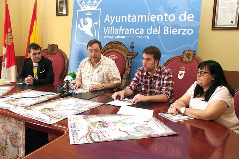 Presentación del programa de las Fiestas del Cristo de la Esperanza de Villafranca del Bierzo. Foto: Raúl C.