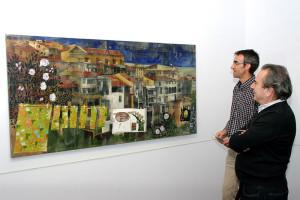 """José Tabernero y José Ramón Rodríguez presentan """"Colores en mis bolsillos"""" de Anna Tamayo. Foto: Raúl C."""