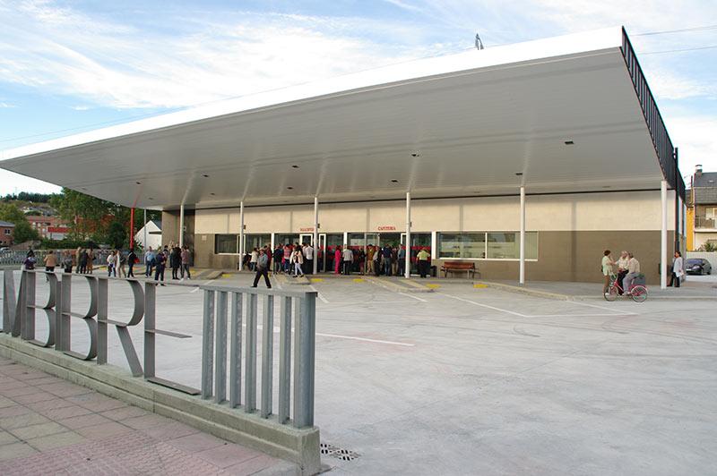 Estación de Autobuses de Bembibre. Foto: Raúl C.