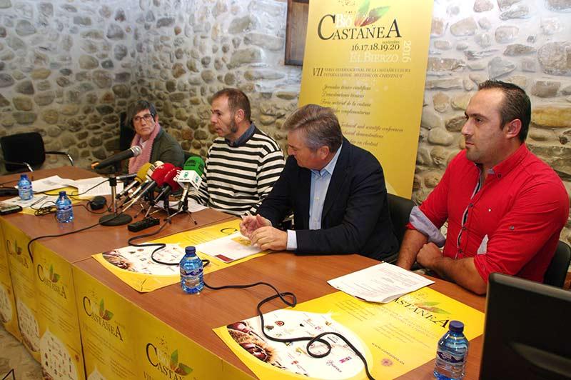 Presentación de Biocastanea 2016 en Carracedelo. Foto: Raúl C.
