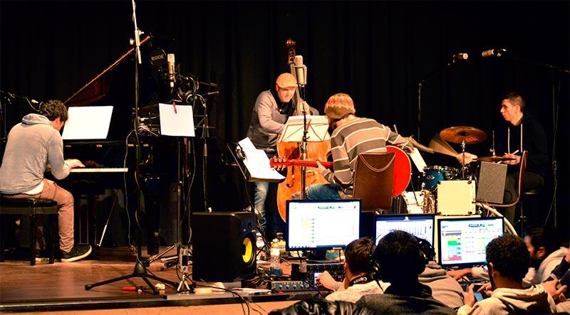 """grabación de """"Jazz en el CIFP-Vol.1"""""""