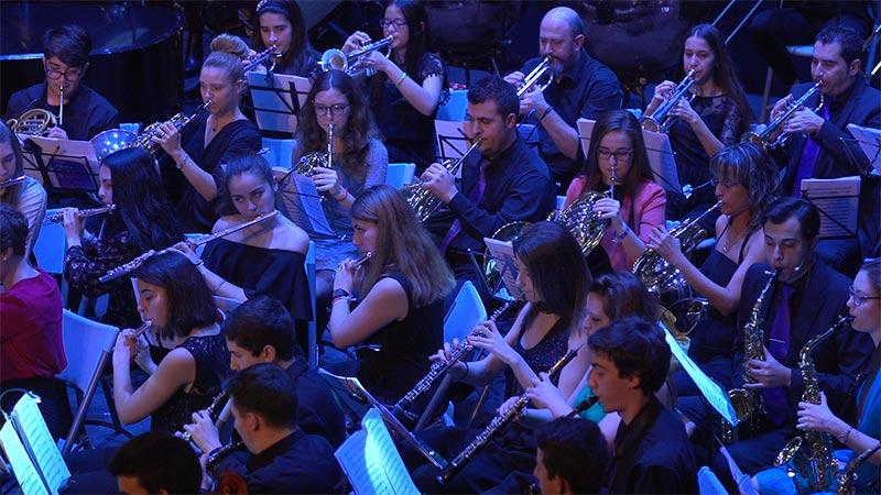 Banda de Música Ciudad de Ponferrada. Foto: Raúl C.