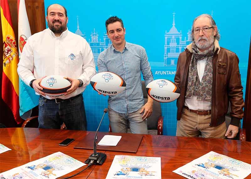 Presentación de la VII Concentración de Escuelas de Rugby de Castilla y León.